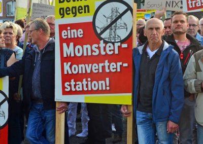 Demo keine Überland-Stromtrasse Bild 10