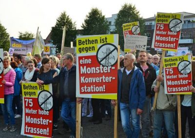 Demo keine Überland-Stromtrasse Bild 11