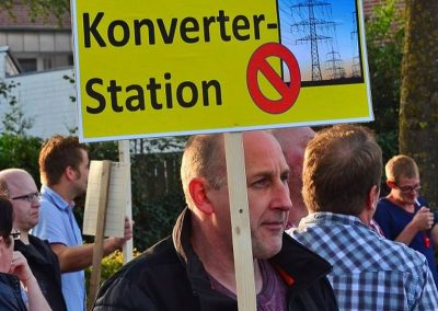 Demo keine Überland-Stromtrasse Bild 2